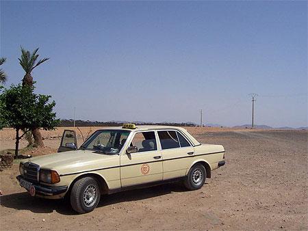 taxi cab Morocco